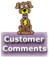 Comments by customers of you dirty dog mobile dog grooming and cat grooming services